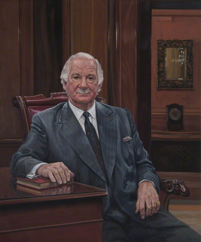 Sir Kenneth G. Newton (1918–2008), Bt, OBE, TD, PSGW, President of the Board of General Purposes (1986–1991)