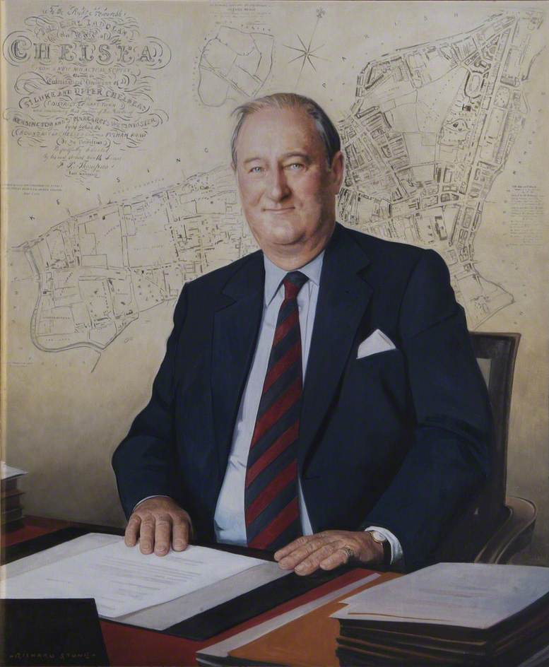 Right Honourable the Earl Cadogan, DL, President of the Board of General Purposes (1999–2004)