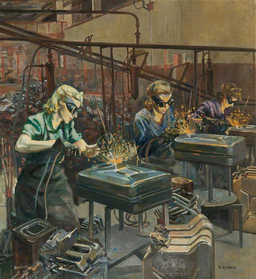 Women Welders at Williams & Williams, Chester