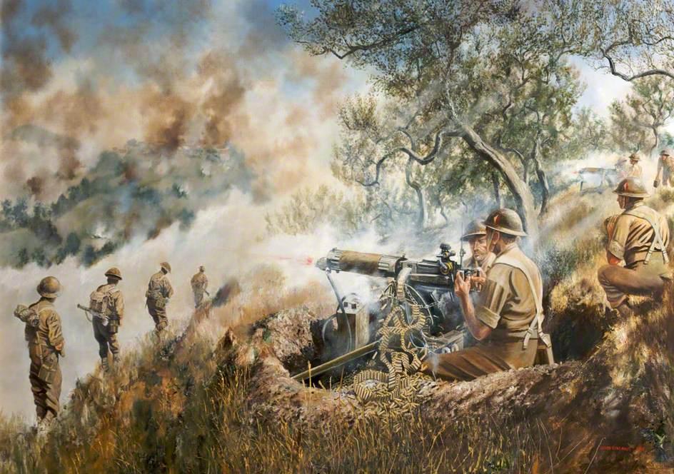 6th Battalion, Monte Gemmano, Italy