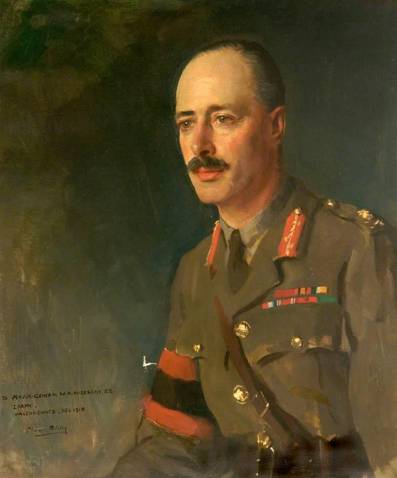 Major General Warren Hastings Anderson (1872–1930), Valenciennes, December 1918