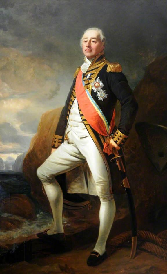 Admiral Lord James de Saumarez (1757–1836), GCB, KS, 1st Baron de Saumarez (1831)
