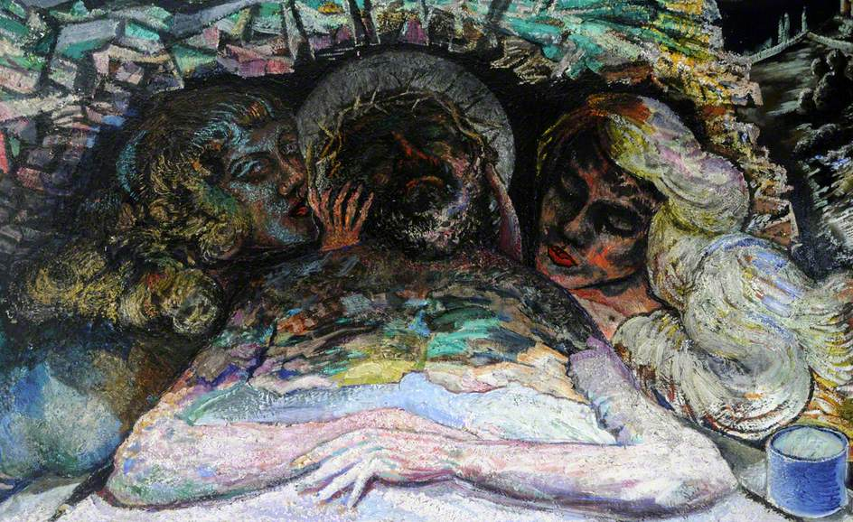 Lamentation over Christ in the Tomb