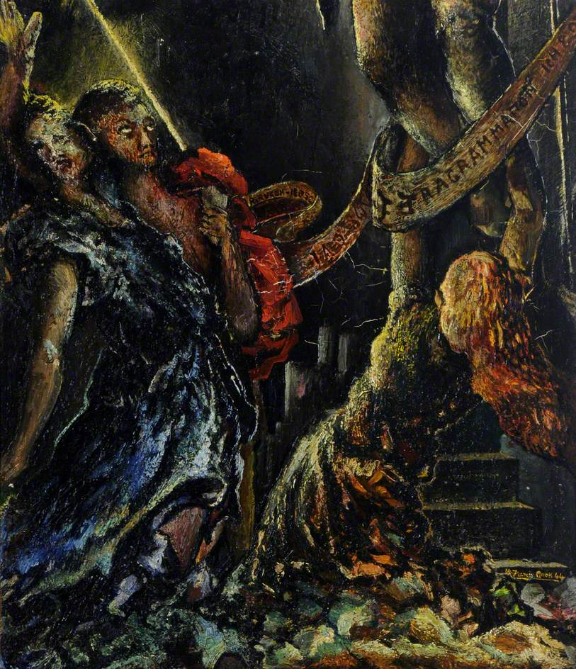 Saint Mary, Saint John and Mary Magdalen at the Foot of the Cross