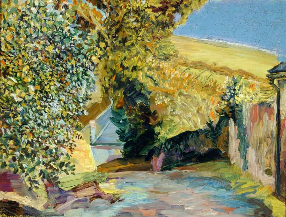 Autumn Sunshine, Baker's Lane, Cornwall