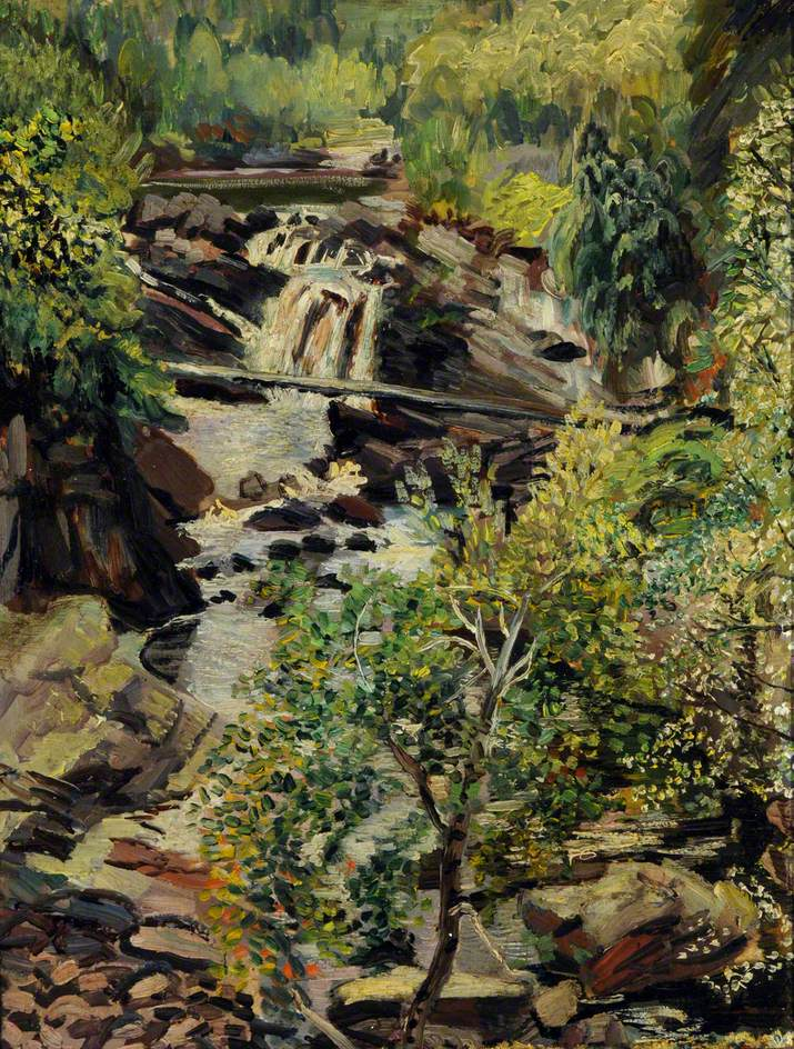 Falls of Rogie near Garve, Perthshire