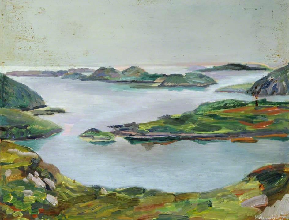 Eilean na Bearachd Island and Eilean na Rainich, near Scourie, Scotland