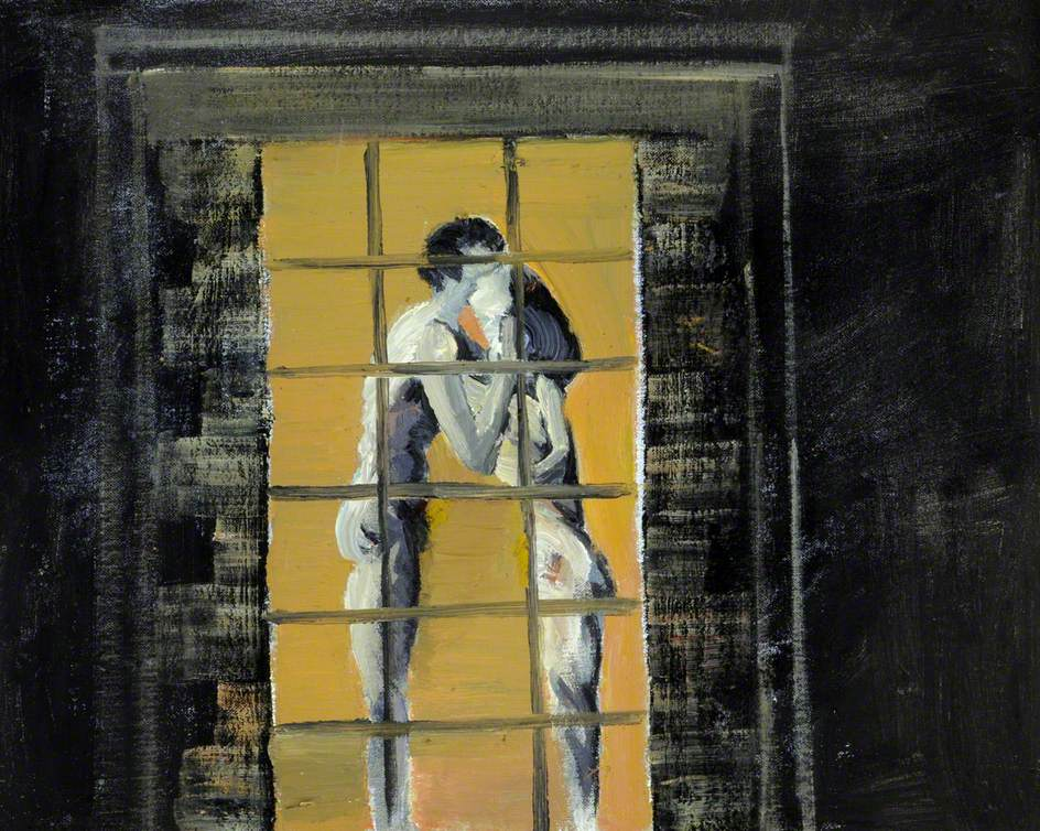 Lovers at a Window by Night
