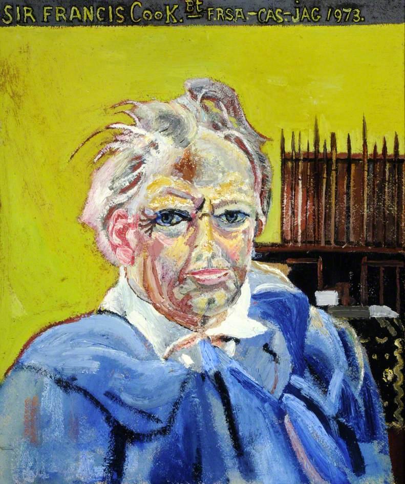 Self Portrait, Aged 66