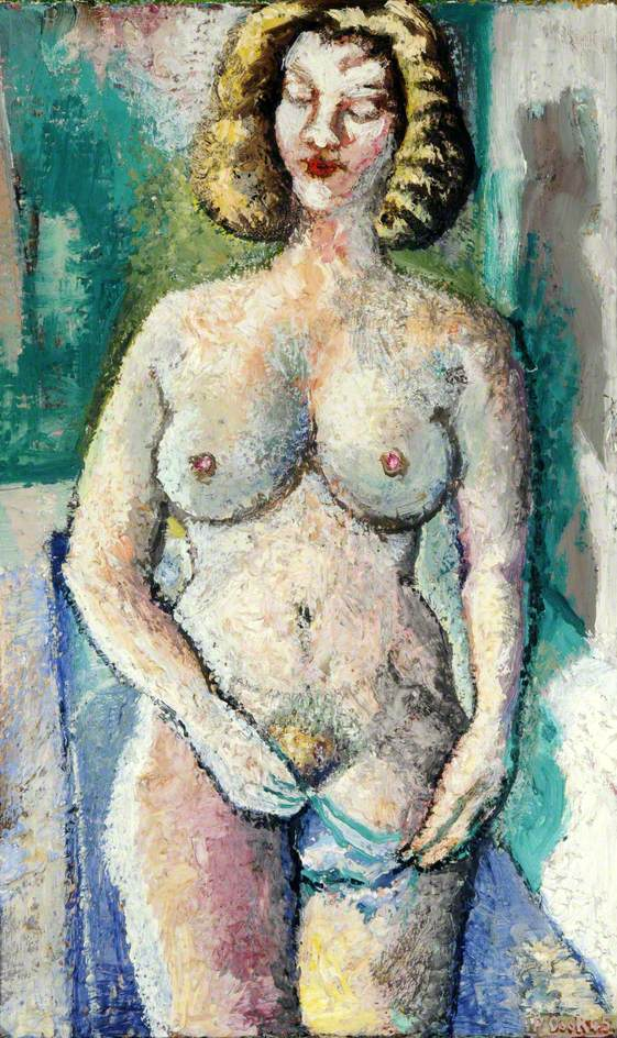 Nude at the Bath