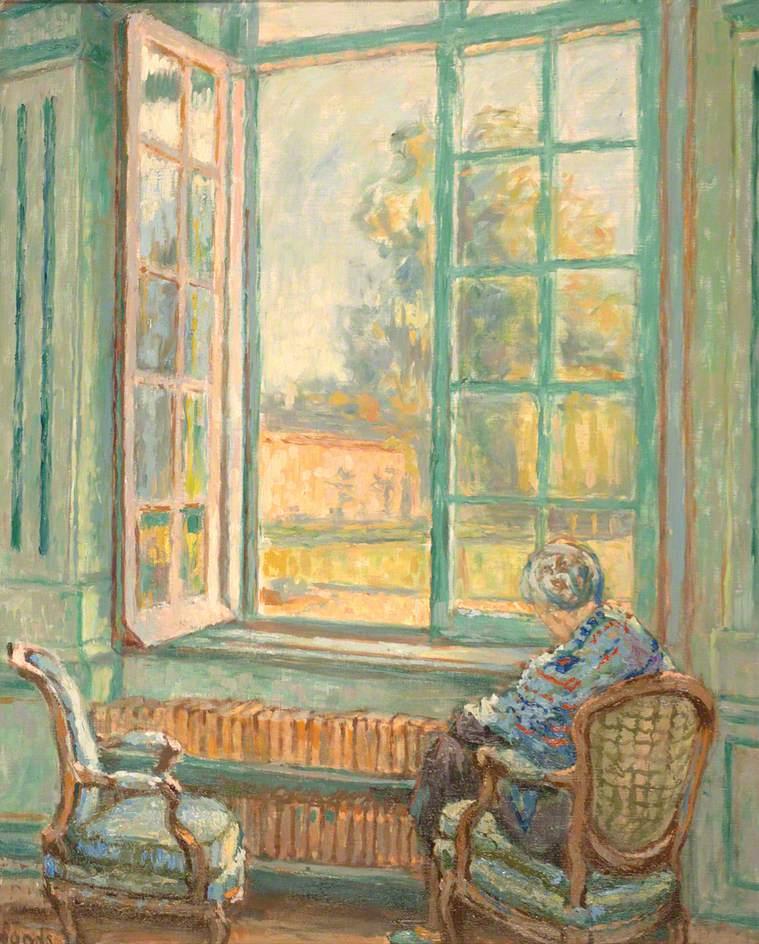 Figure Seated by an Open Window