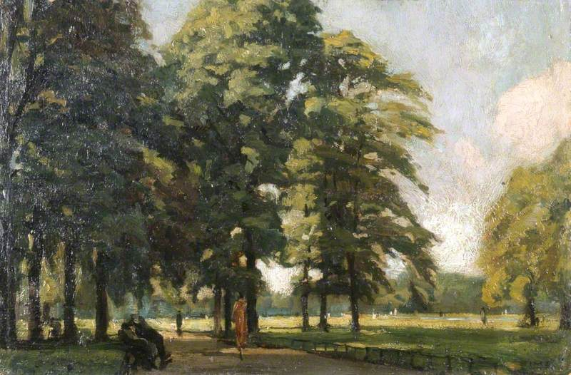 View in Kensington Gardens, London