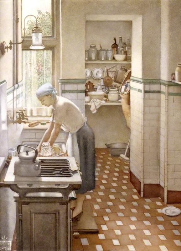 The Tiled Kitchen