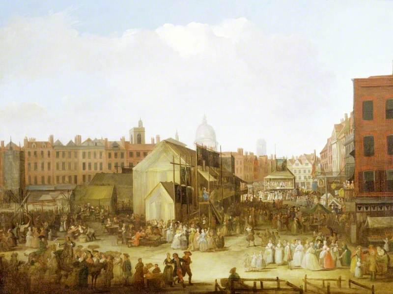 St Bartholomew's Fair, Smithfield, London