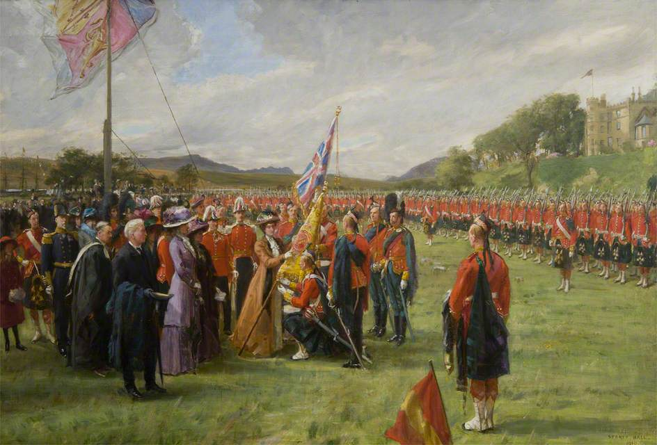 Presentation of the Colours