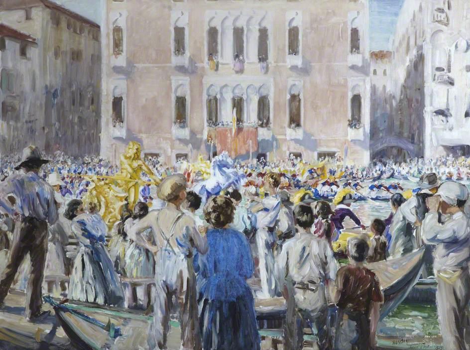 Regatta on the Grand Canal, Venice