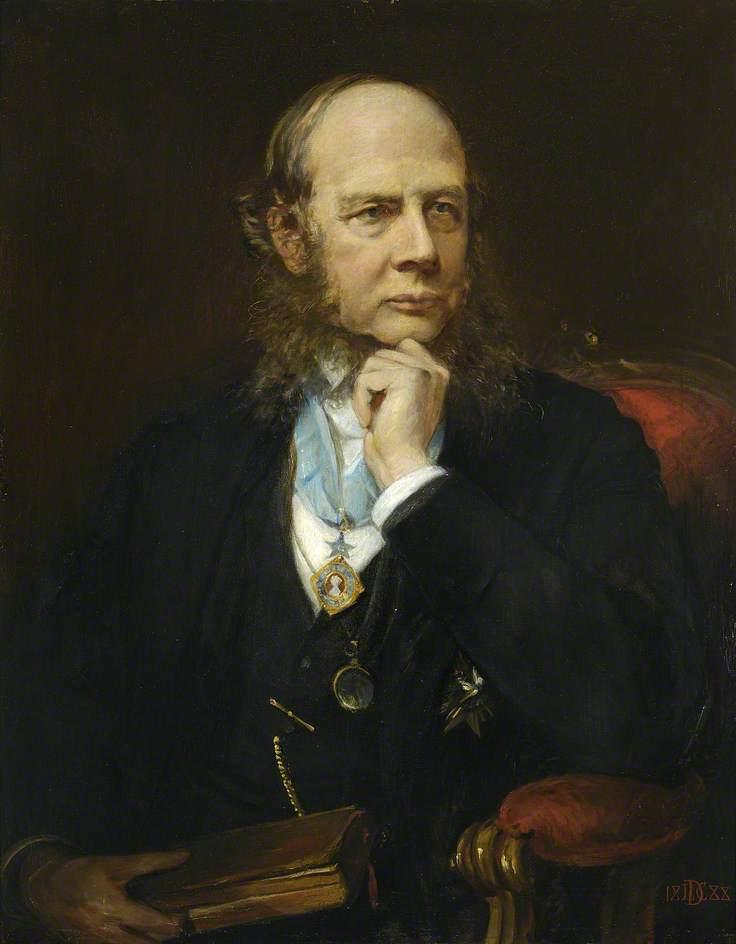 Sir Henry James Sumner Maine (1822–1888), KCSI, LLD, FRS, Master (1877–1888)