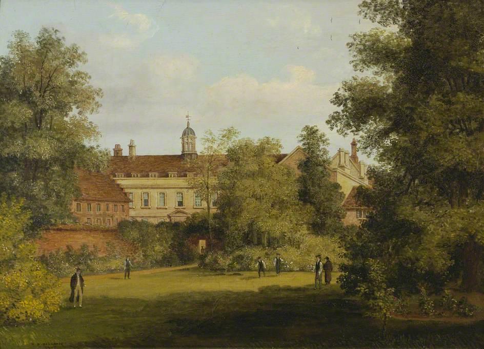 Trinity Hall from the Fellows' Garden*