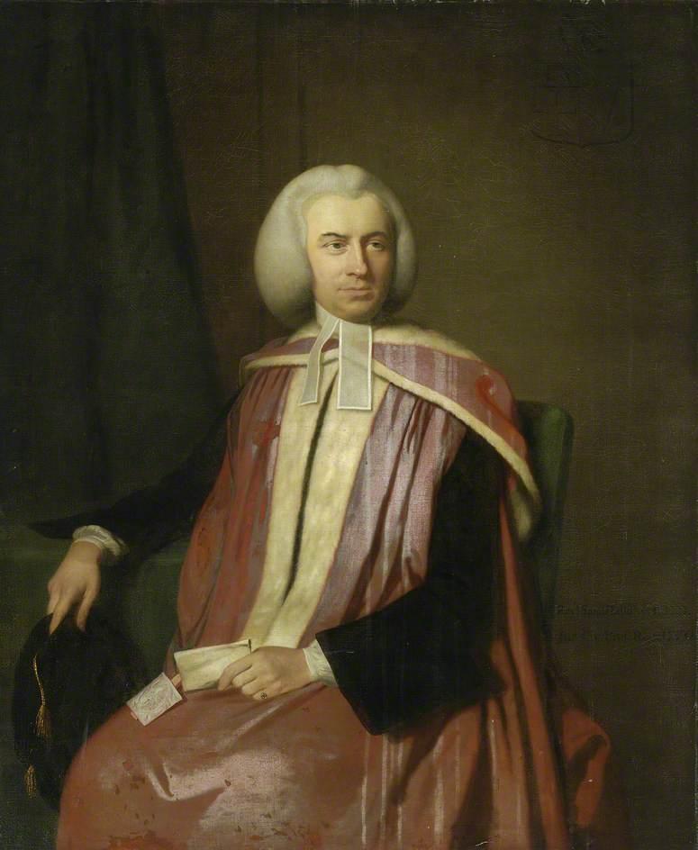 Samuel Hallifax (1733–1790), LLD, Bishop of Gloucester (1781–1789)