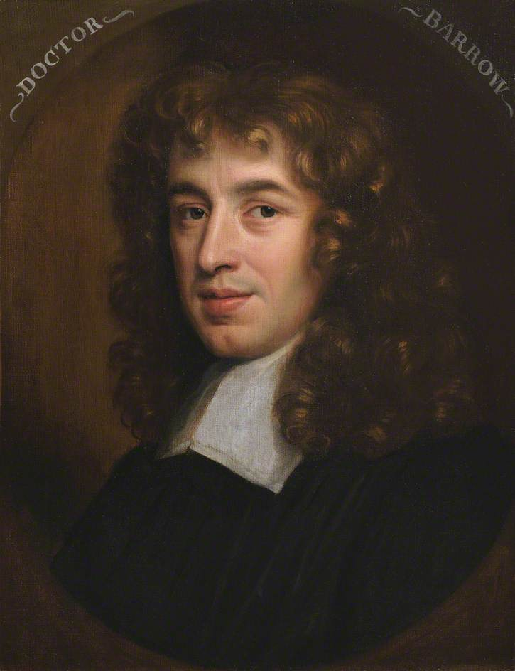 Isaac Barrow (1630–1677), Master (1673–1677), Mathematician and Theologian