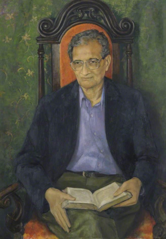 Amartya Sen (b.1933), Master (1998–2004), Economist and Philosopher