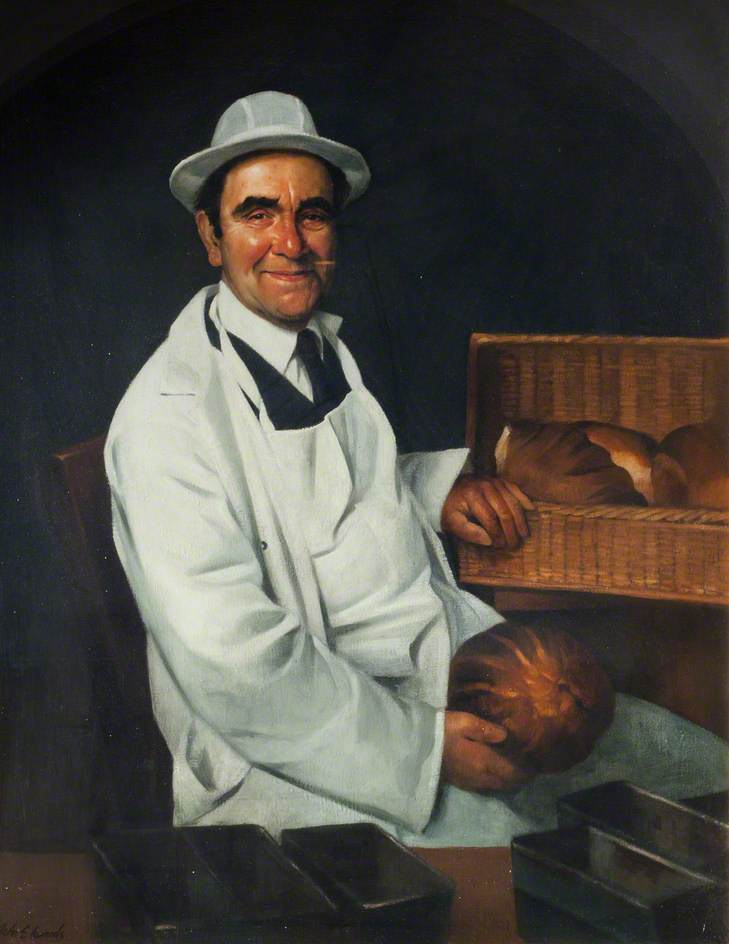 Reg Andrews, Bread Delivery Man and Retired Carpet Weaver