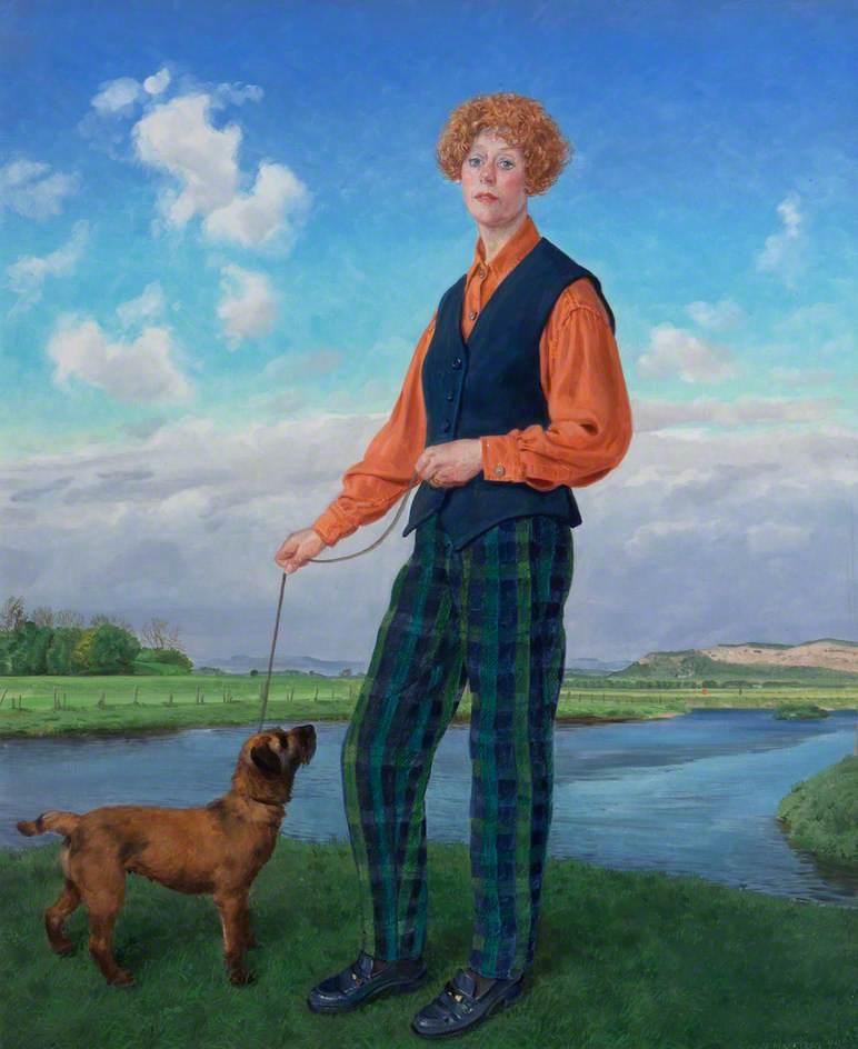 Julia Richardson (b.1947), Milk Tester