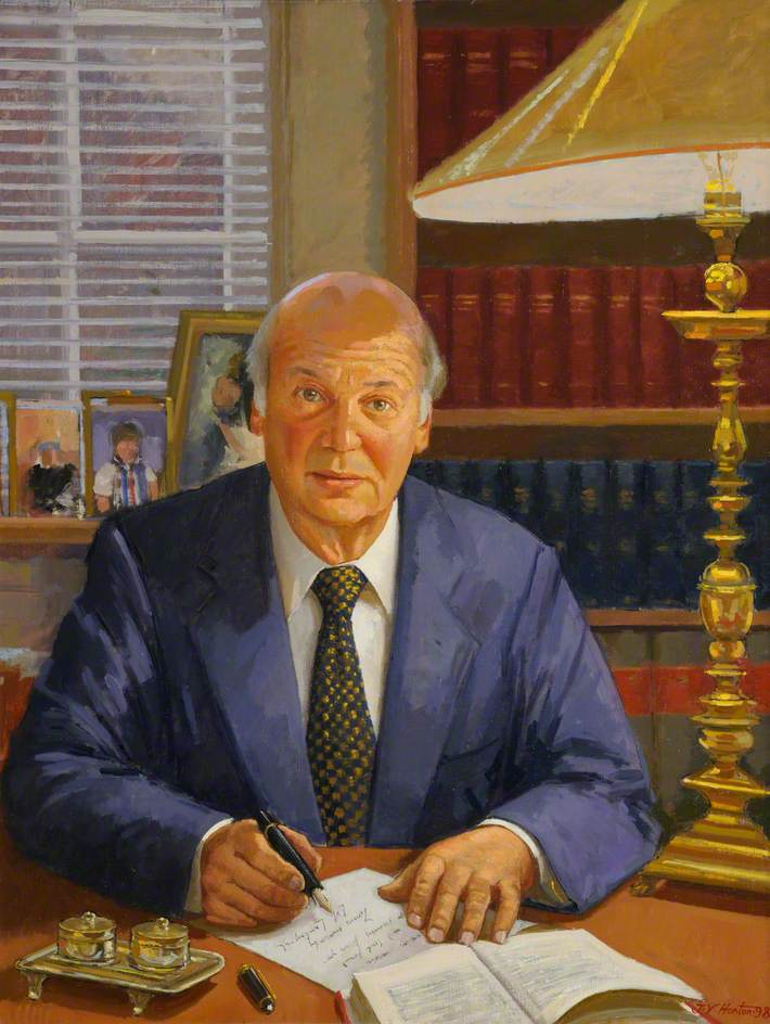 Professor Sir Elihu Lauterpacht, CBE, QC, LLD