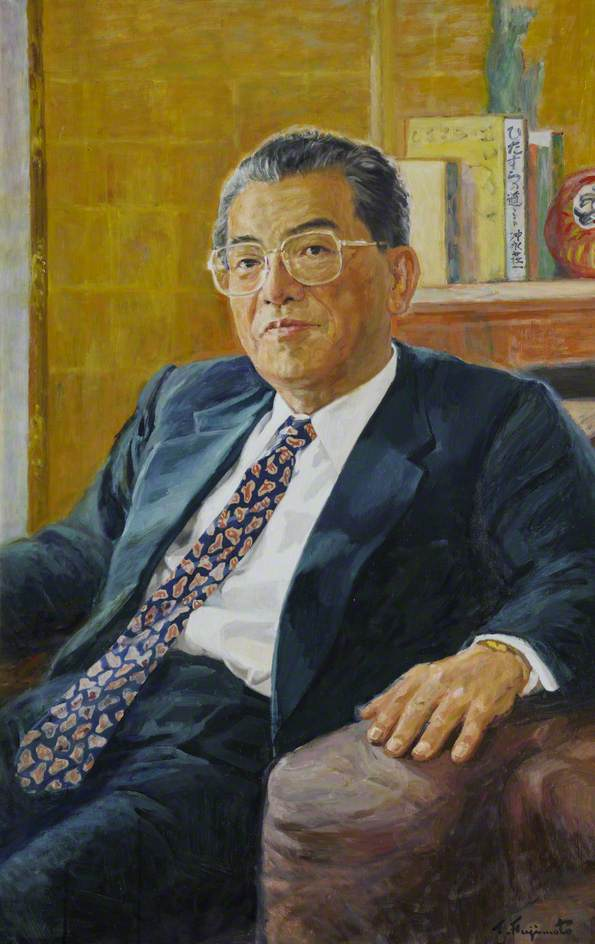 Dr Shoichi Okinaga, President of Teikyo University, Benefactor and Honorary Fellow
