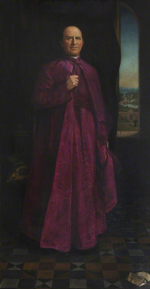The Right Reverend Monsignor Edmund Nolan Ma Principal 1896 1897 And Second Master Of St Edmund S College 1904 1909 Art Uk