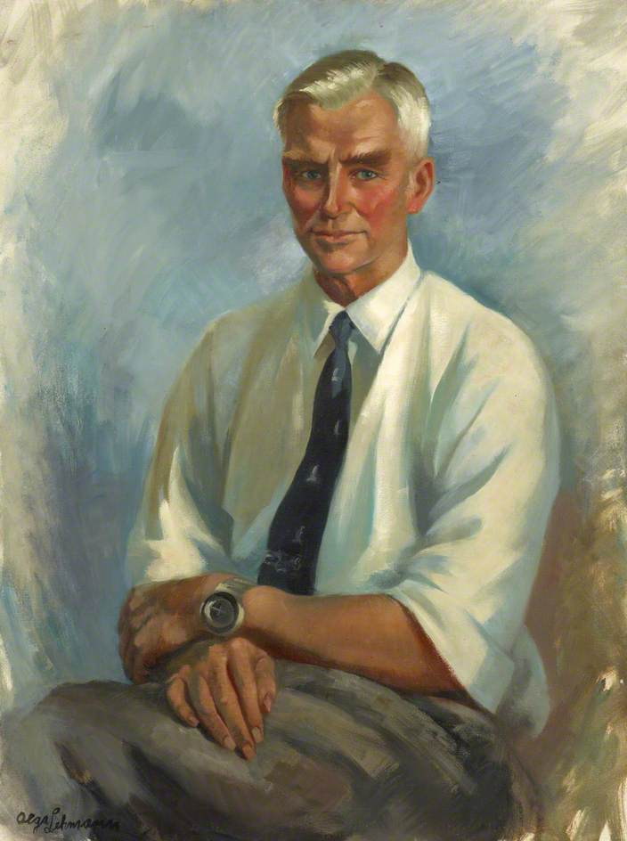 Vivian Fuchs (1908–1999), Honorary Fellow of Wolfson College