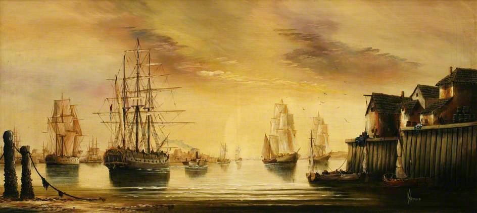 Ships at Anchor