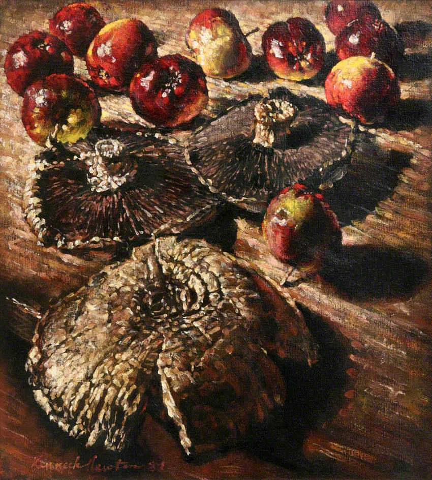 Mushrooms and Apples