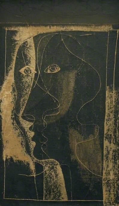 1933 (study of a head)