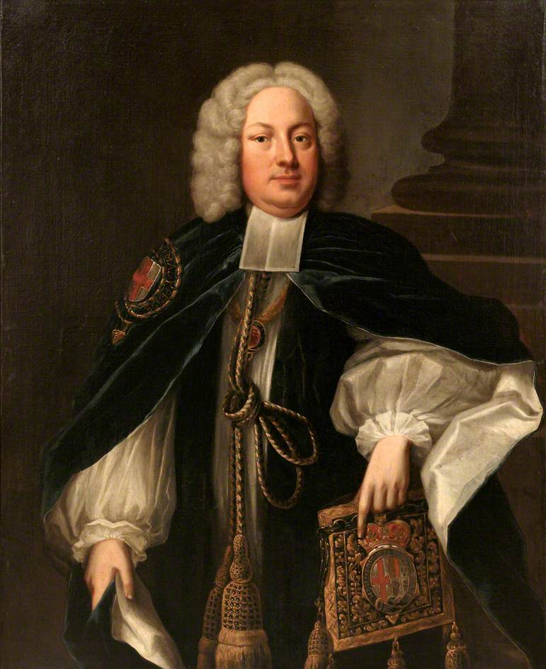 Dr John Gilbert, Bishop of Salisbury, Archbishop of York