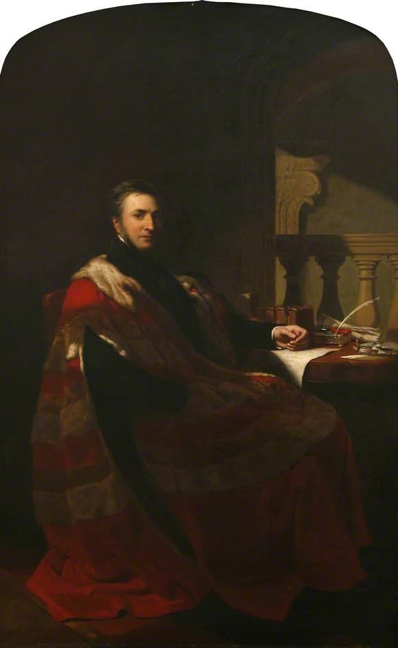 Ernest Augusutus, 3rd Earl of Mount Edgcumbe (1791–1861), in Peers Robes