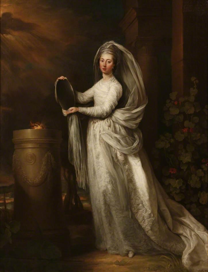 Miss Sophia Finch as a Vestal Virgin