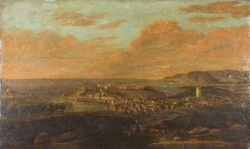 A View of Mount Edgcumbe with Plymouth in the Foreground