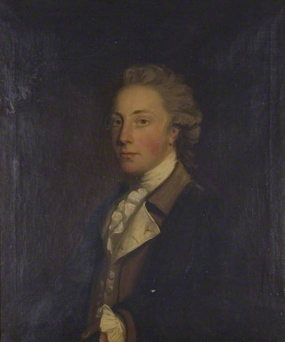 Earl of Coventry, Half-Length, in a Brown Waistcoat and White Stock