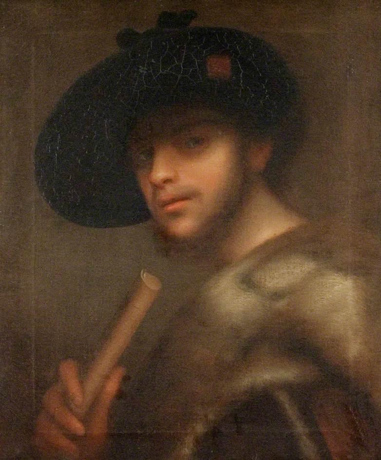 Portrait of a Man in a Fur Coat