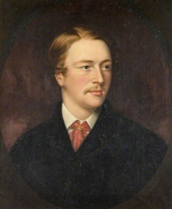 Portrait of a Gentleman with a Red Tie