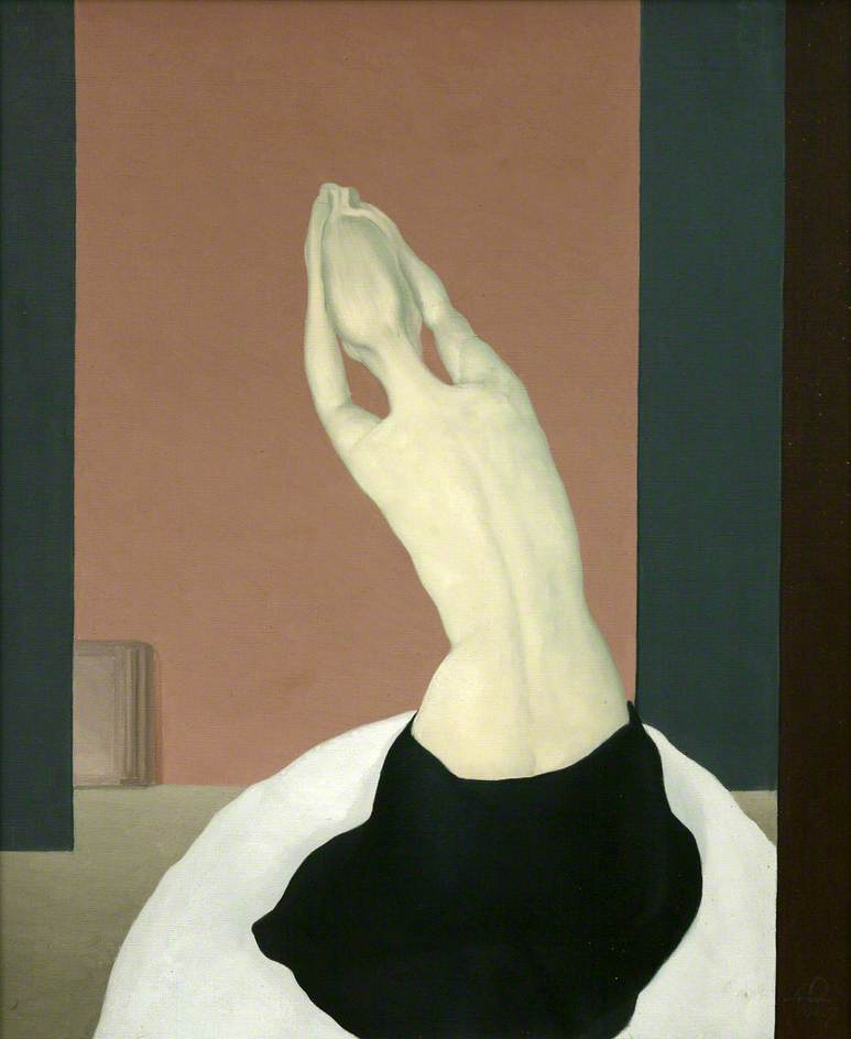 Woman with Uplifted Arms