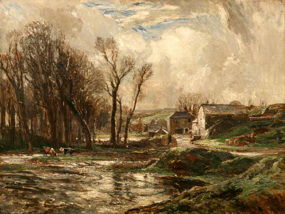 January (The Mill at Lamorna)