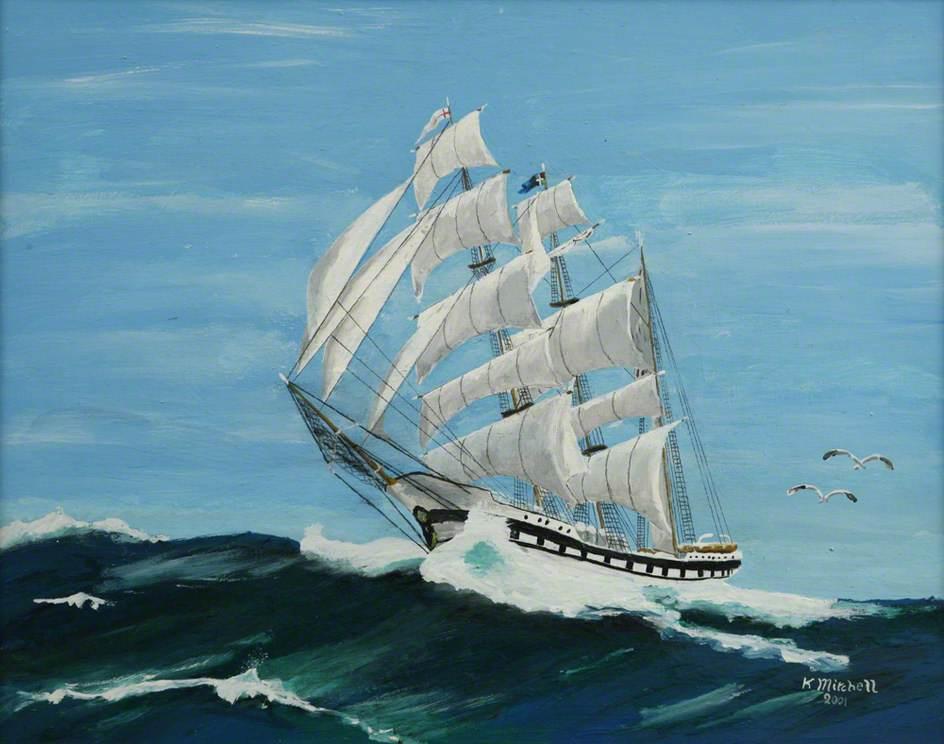'Simon Bolivar' Venezuela Barque, Falmouth Tall Ships