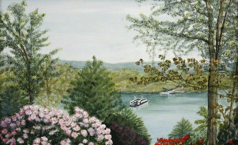 'King Harry' Ferry from Trelissick Garden