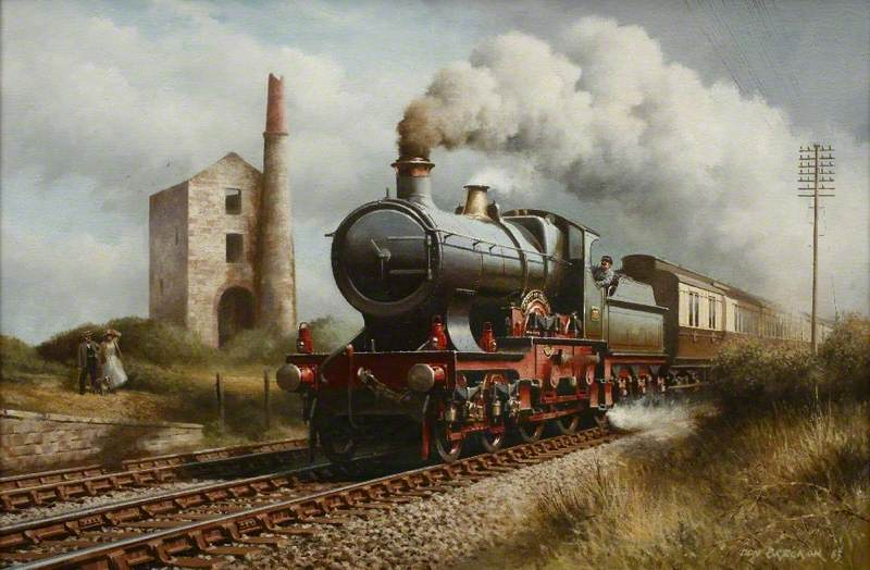 'The City of Truro' Passing Hallen Beagle
