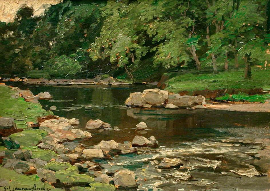 Stream with Boulders