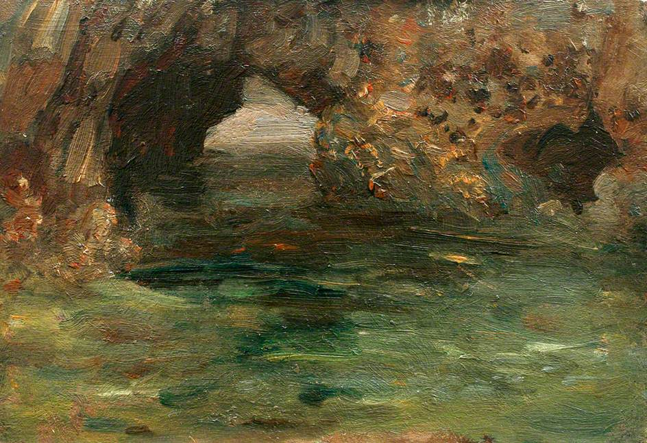Archway in Rock Pool