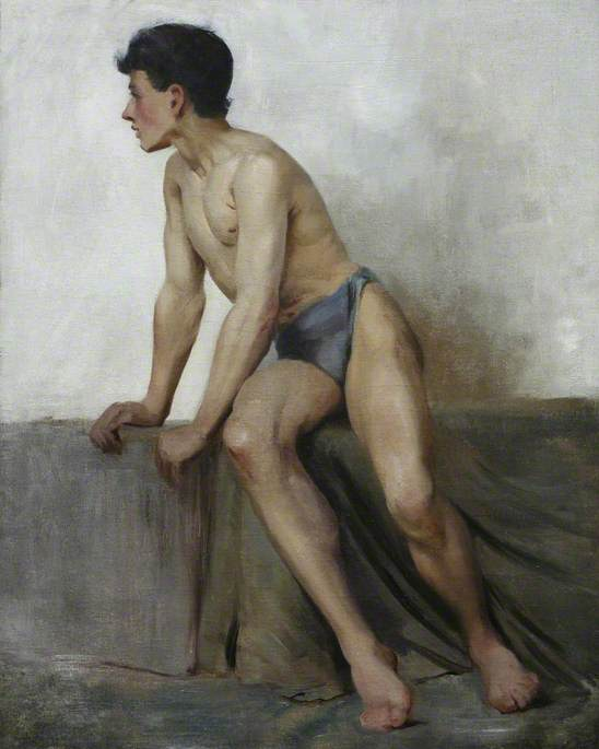 Seated Nude Study