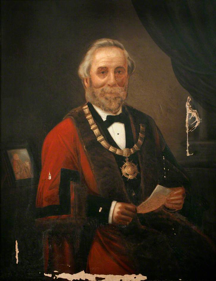 Alderman William Shaddock, Mayor of Saltash